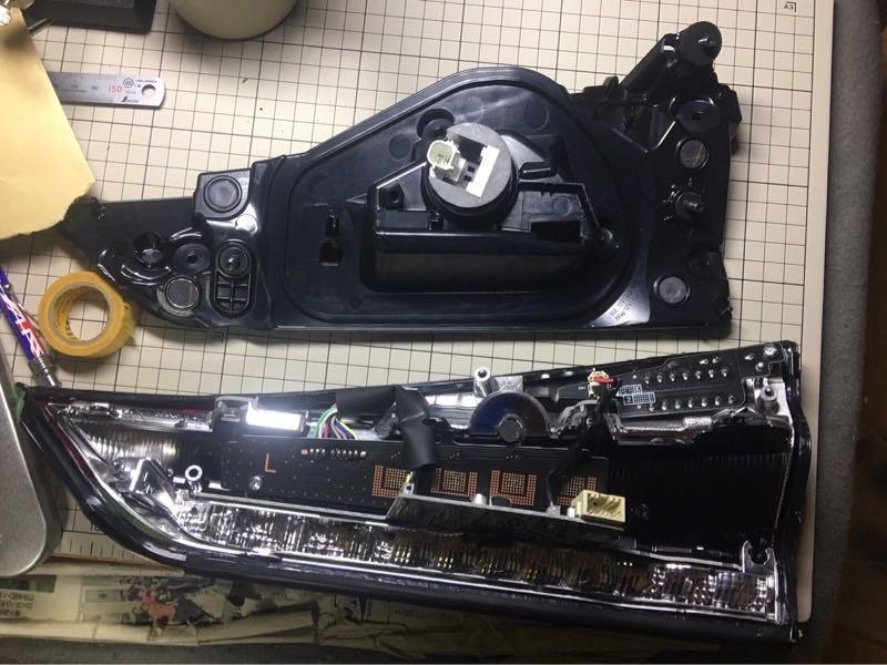 社外テール交換&LED球切れ修理の写真