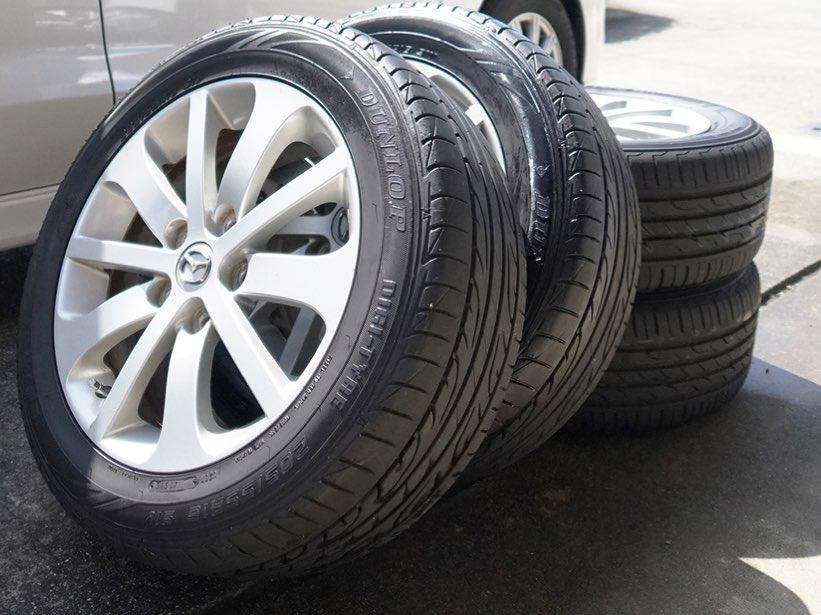 タイヤ脱着(サマータイヤ、スタッドレス) 組み換え不可の写真
