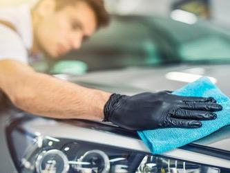 乗用車の洗車コーティング致しますの写真