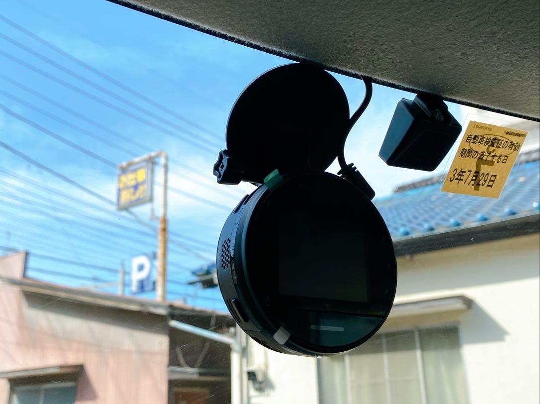 保険会社レンタルのドライブレコーダー取付の写真
